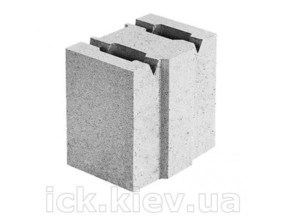 Блок бетонный перегородочный 130х190х188