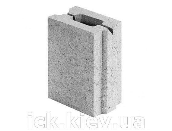 Блок бетонный перегородочный 130х90х188