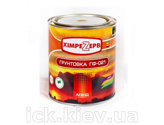 Грунт красно-коричневый ГФ-021 0,9 кг