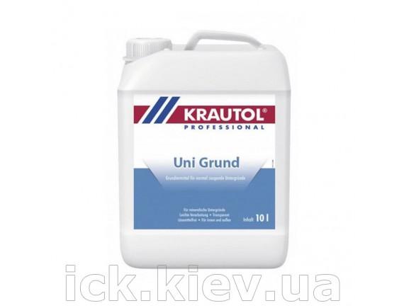 Грунтовка акриловая Krautol Uni Grund 10 л