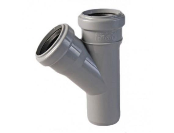 Тройник обыкновенный Plastimex 50х50/45 мм