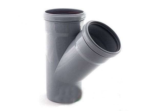 Тройник обыкновенный Plastimex 50х50/67 мм