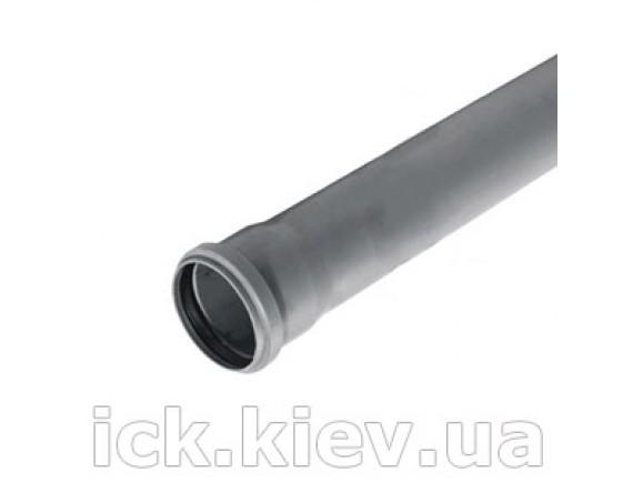 Труба Plastimex с раструбом 50х500 мм