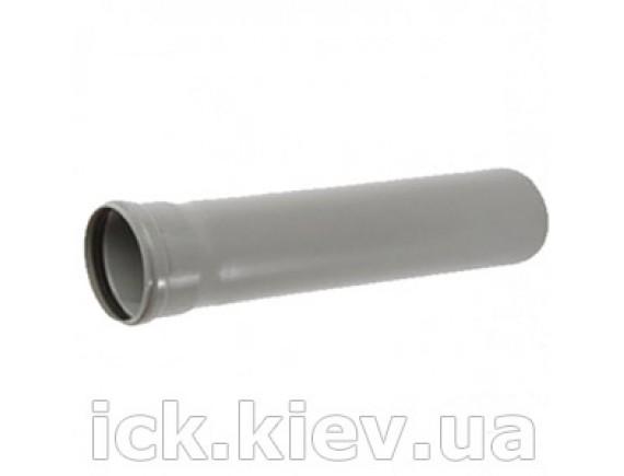 Труба Plastimex с раструбом 50х1000 мм