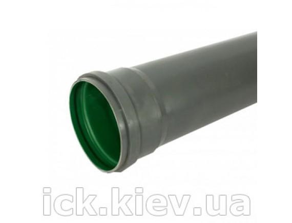 Труба Plastimex з раструбом ПП 110х2,7х1000 мм