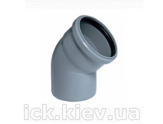 Колено Plastimex 50х15 мм