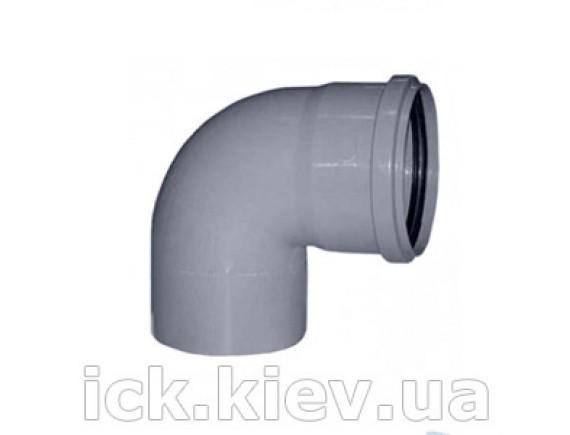 Колено Plastimex 50х90 мм