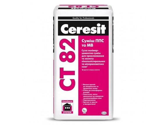 Смесь для теплоизоляции Ceresit СТ 82 25 кг