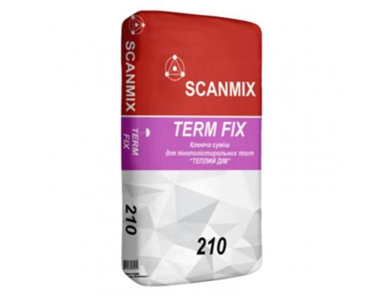 Клей для теплоизоляционных плит Scanmix TERM FIX 210 25 кг