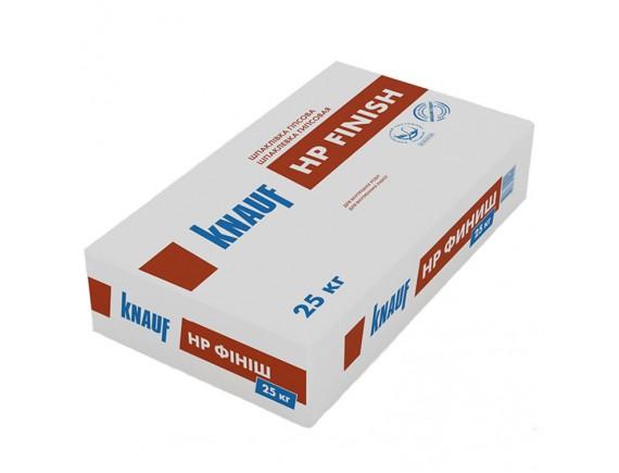 Шпаклевка гипсовая финишная Knauf HP ФИНИШ 25 кг