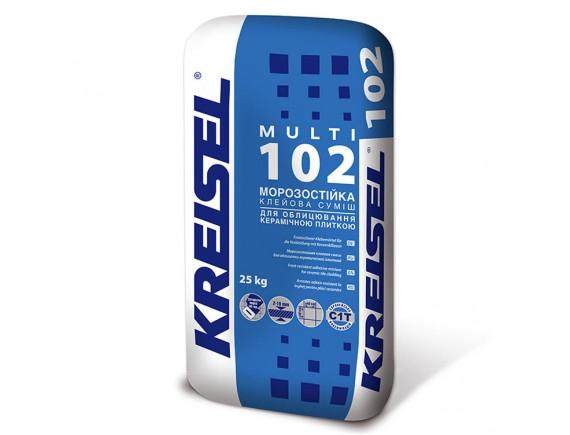 Клей для плитки морозостойкий Kreisel 102 Multi 25 кг