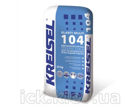 Клей для плитки Kreisel 104 Elasti Multi 25 кг