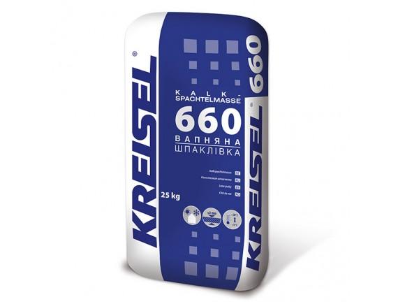Известковая шпаклевка Kreisel 660 Kalkspachtelmasse 25 кг