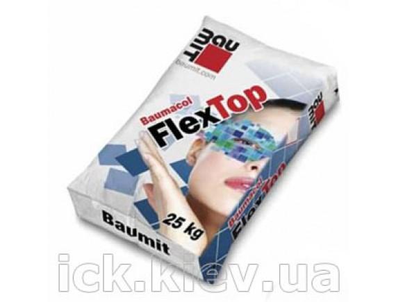 Клей для плитки и теплого пола Baumit FlexTop 25 кг