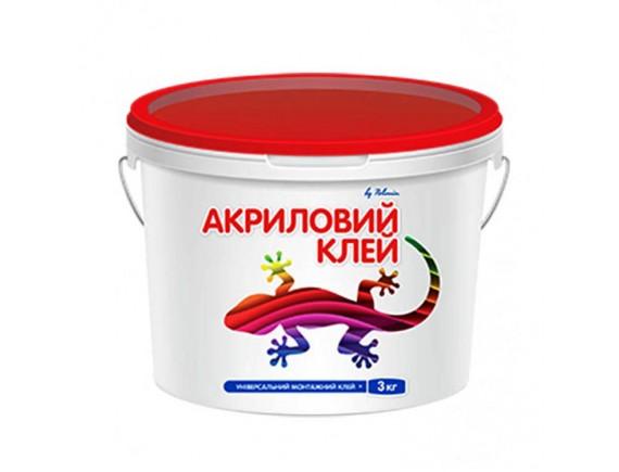 Клей универсальный ремонтно-монтажный Polimin Клей акриловый 3 кг