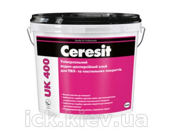 Клей для ПВХ и текстильных покрытий Ceresit UK-400 14 кг