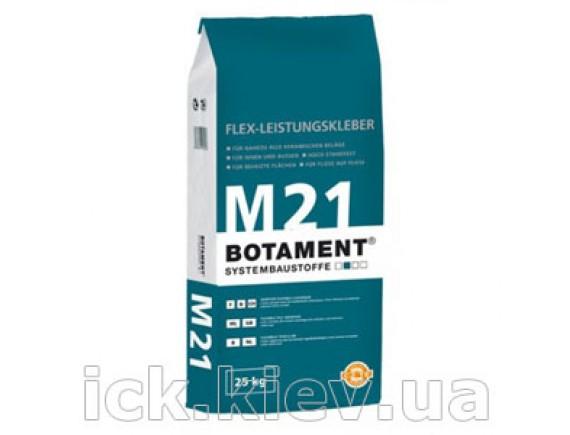 Клей эластичный премиум класса для плитки Botament M-21 25 кг