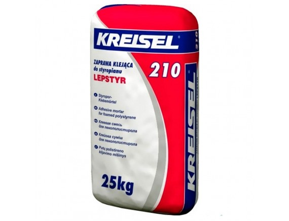 Клей для пенополистирола Kreisel 210 (Зима) 25 кг