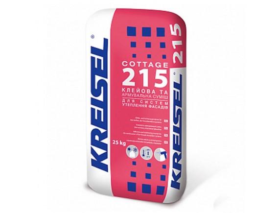 Клеевая и армирующая смесь Kreisel COTTAGE 215 25 кг