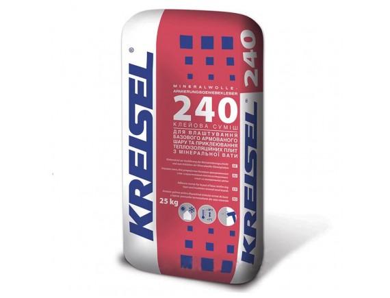 Клей для минеральной ваты Kreisel 230 Klebemortal 25 кг