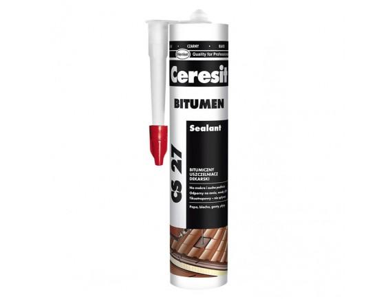 Битумный герметик Ceresit CS 27, 300 мл
