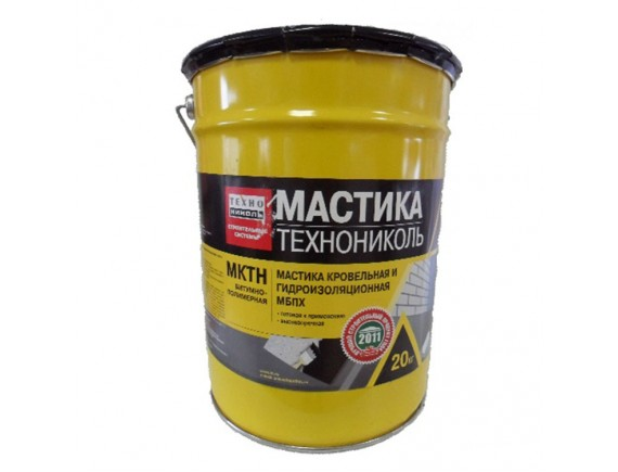 Мастика Технониколь МБПХ МКТН ведро 20 кг
