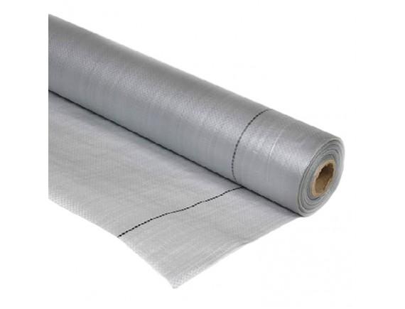 Гидробарьер неармированный Master Foil S MP 75 м2 серый