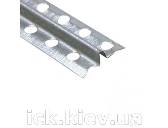 Маяк штукатурный с загибом оцинкованный 6 мм 3,0 м 0,3 мм