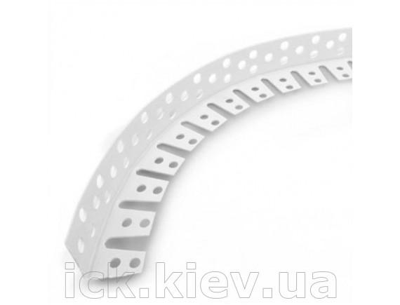 Уголок гибкий пластиковый ПВХ 3 м