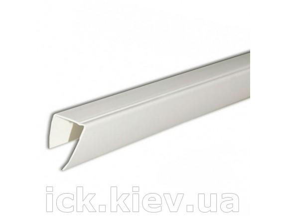 Рейка для торцов гипсокартона 12.5 мм 3 м