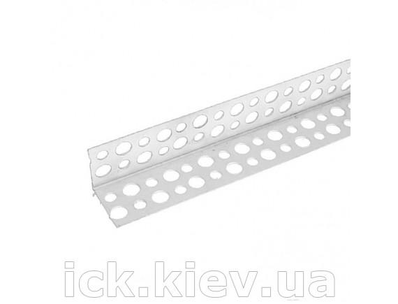 Уголок Галич Профиль ПВХ перфорированный 3,0 м 18х18 мм