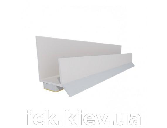 Привіконний профіль ПВХ 12,5 мм 2,5 м