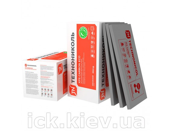 Пенополистирол Carbon Eco рифленый 1180x580x30 мм 0.266916 м3