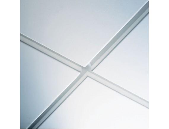 Плита потолочная Axal Vektor Plain Ral 9010 600x600x24 мм