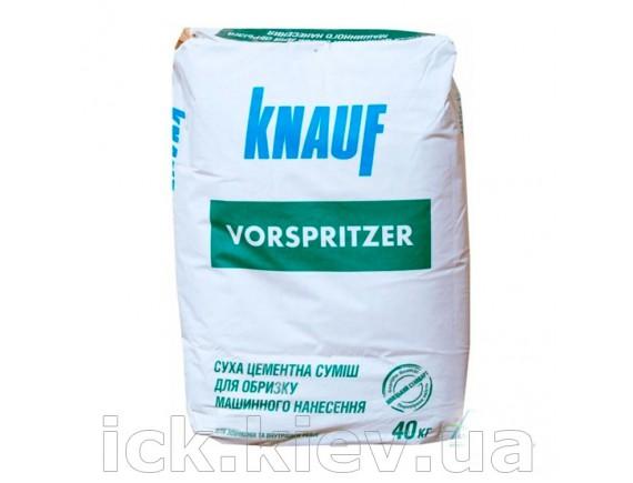 Смесь для обрызга на основе цемента Knauf Форшпритцер 40 кг