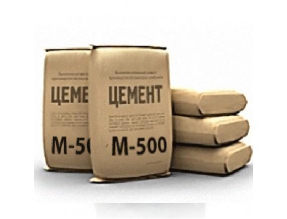Цемент М-500 ПЦ I Д0 Полимин 25 кг