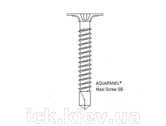 Винт Knauf AQUAPANEL Maxi, SB 25 мм уп/250 шт