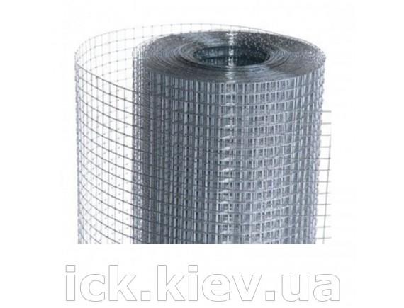 Сетка сварная штукатурная оцинкованная 12x12x0,65 мм 1x30 м