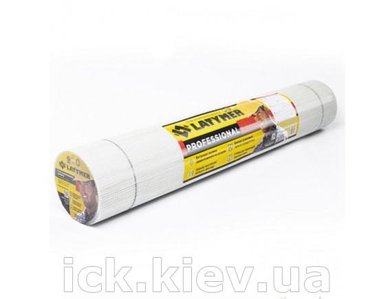 Сетка стекловолоконная LATYMER ECO 160 5х5 1м х 50 м белая