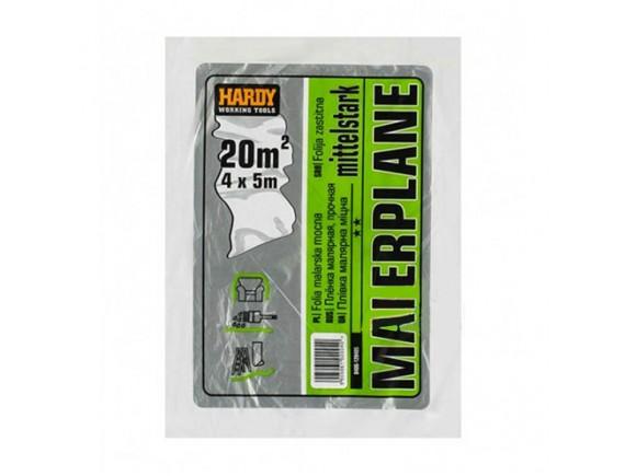 Пленка защитная малярная Hardy Standart plus plus TP 4мx5м 12 мк