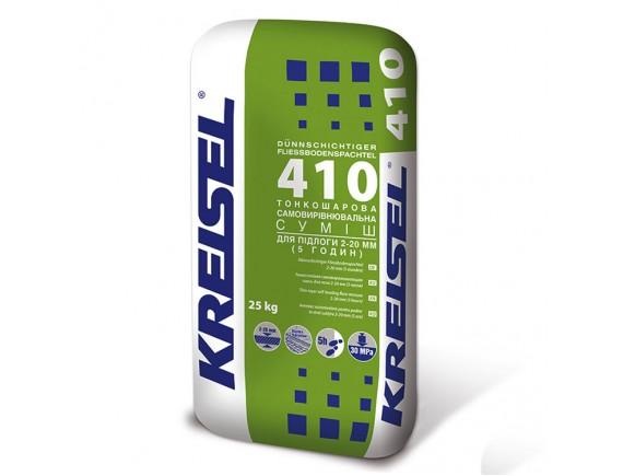 Самовыравнивающая смесь Kreisel 410 Fliess-bodenspachtel 25 кг