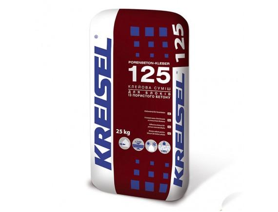 Кладочная смесь для керамоблоков Kreisel Porenbetonkleber 125 25 кг