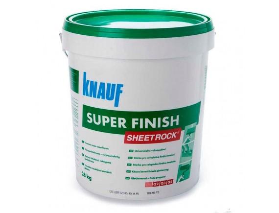 Пастообразная шпаклевка Knauf Sheetrock super finish 28 кг