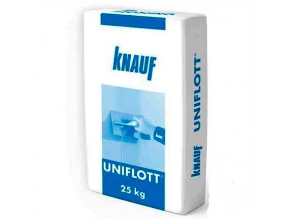 Шпаклевка гипсовая Knauf Унифлот 25 кг