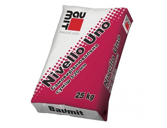 Самовыравнивающаяся смесь Baumit Nivello Uno 25 кг