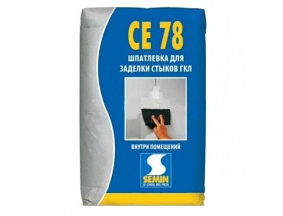 Шпаклевка гипсовая Semin СЕ-78 25 кг