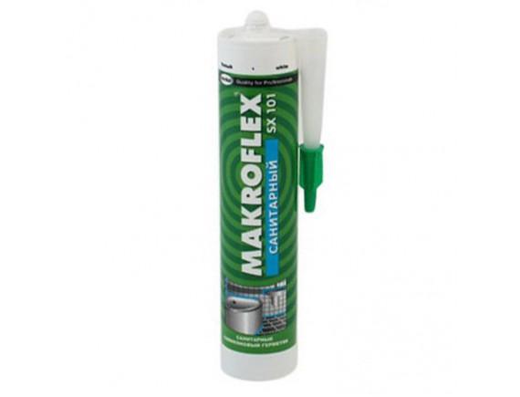 MAKROFLEX SX101 Герметик санитарный белый 280мл