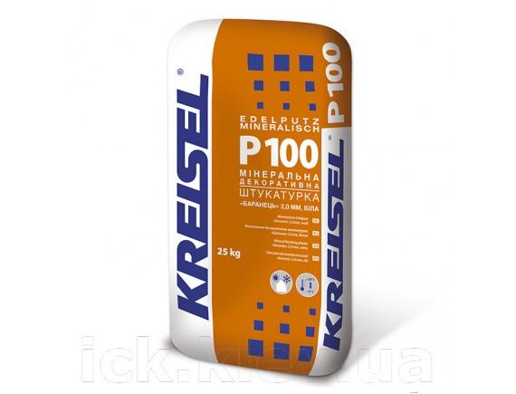 "Штукатурка минеральная ""барашек"" зерно 2 мм Kreisel Edelputz mineralisch Р100 25 кг белая"