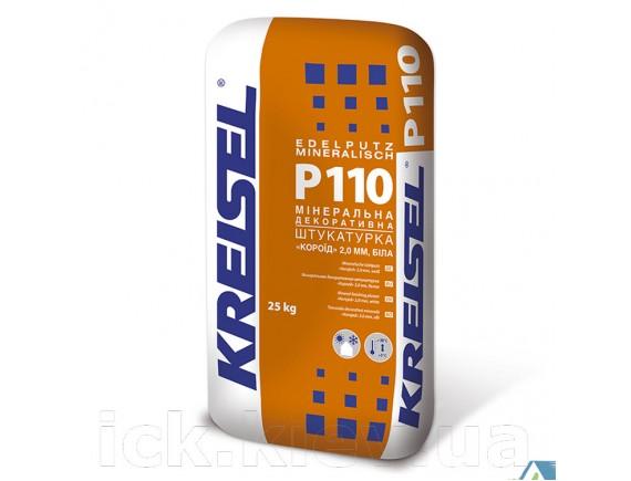 "Штукатурка минеральная ""короед"" зерно 2 мм Kreisel Edelputz mineralisch Р110 25 кг белая"