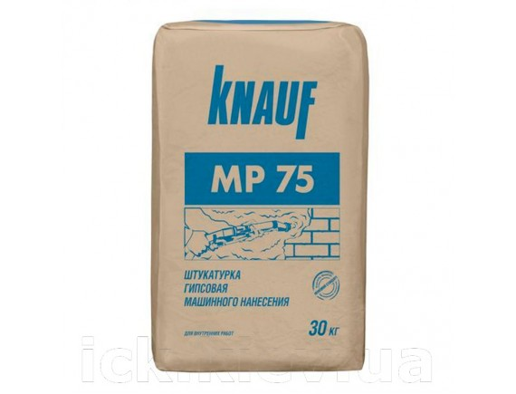 Гипсовая штукатурка для машинного нанесения Knauf МП-75 30 кг
